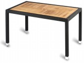 Geneva Teak Top Outdoor Rectangular Table