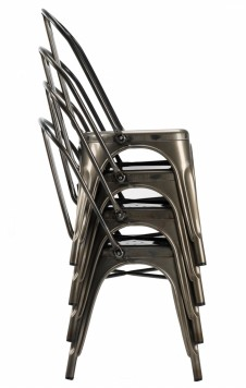 Stacking Industrial Chairs