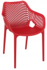 Summer Outdoor Arm Chair Red