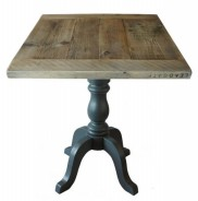 Farmhouse Style Scaffold Top on Melba Table Base