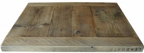 Reclaimed Scaffold Boards Table Top Farmhouse Style