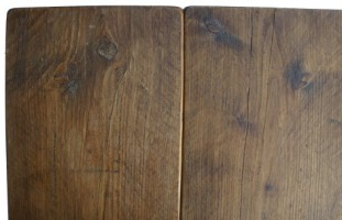 Reclaimed Scaffold Table Top V Groove Style