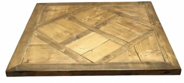 Reclaimed Wood Table Top - Argyll Style