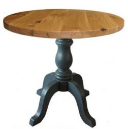 Character Oak on Melba Table Base