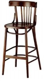 Slat Back Bar stool in stock