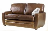 Camden Brown Leather Sofa