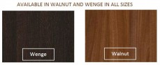 walnut wenge finish
