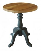 Classic Table Base with character oak table top