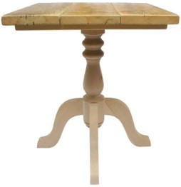 Classic Table Base with Scaffold Board Table Top